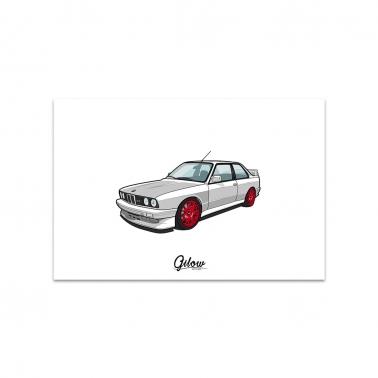 Artwork - Gilow E30 weiss