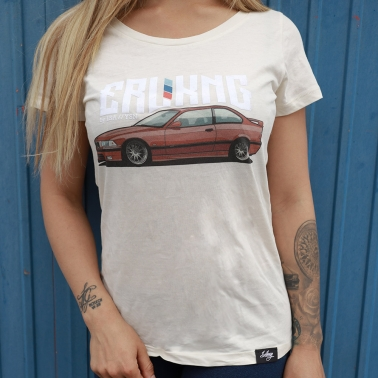 Damen T-Shirt - ERLKNG e36 Front // Lisa Yasmin