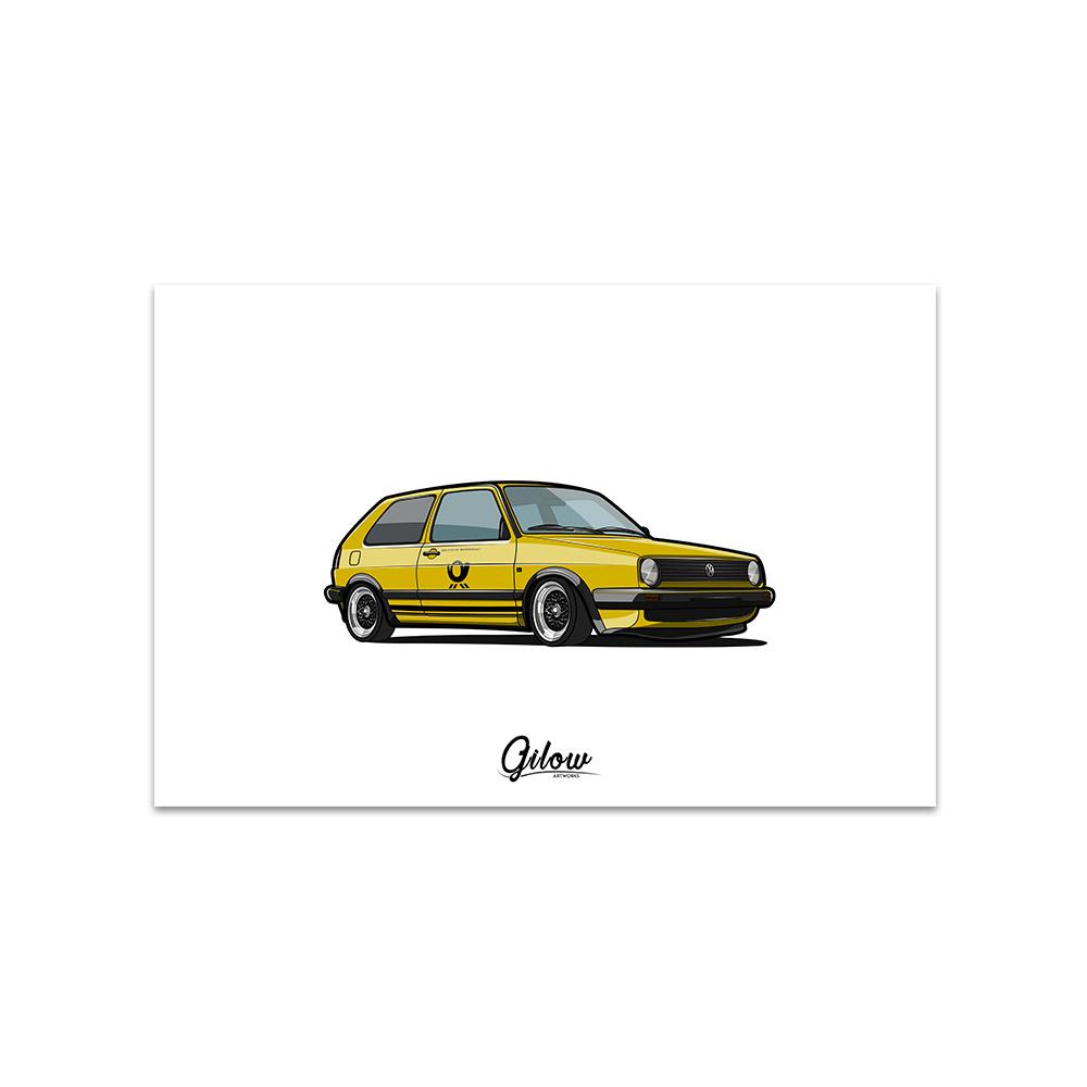 Artwork - Gilow Mk2 gelb