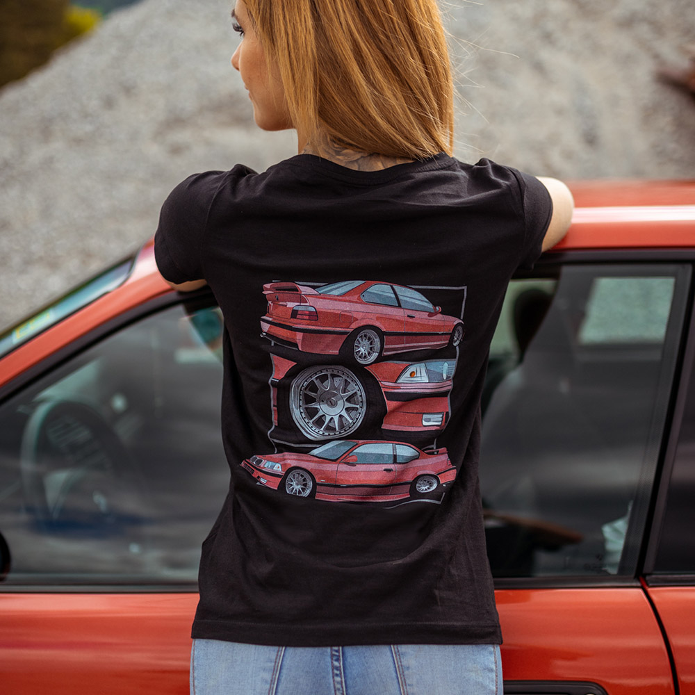 Damen T-Shirt - ERLKNG e36 3er Illu // Lisa Yasmin