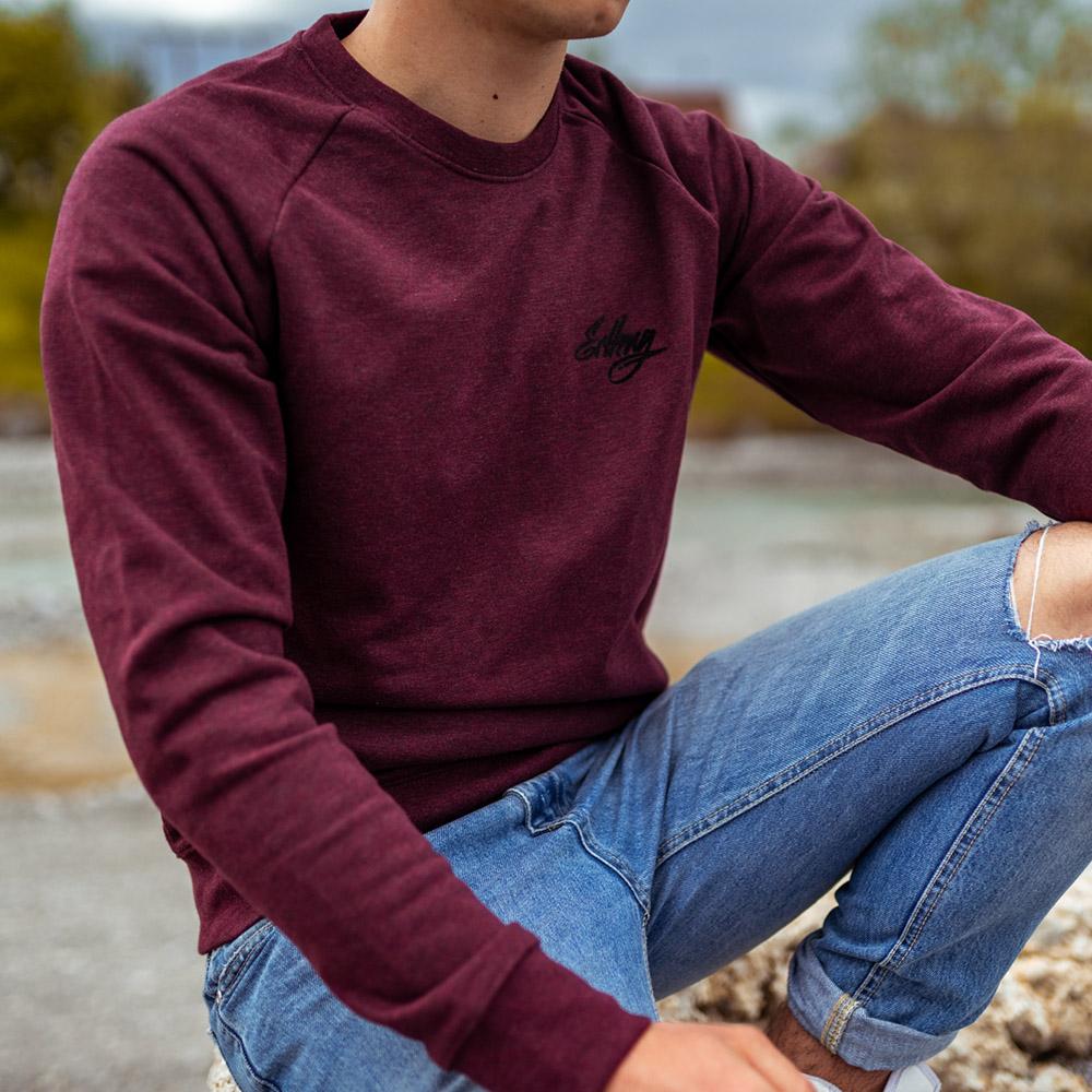 Herren Sweatshirt - ERLKNG e36 3er Illu // Lisa Yasmin