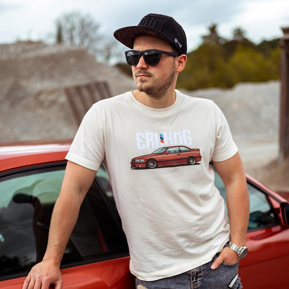 Herren T-Shirt - ERLKNG e36 Front // Lisa Yasmin
