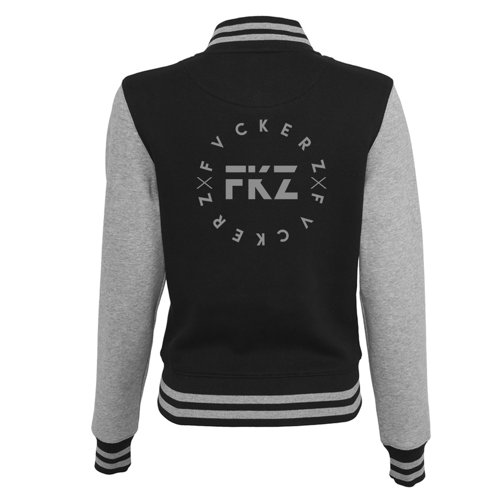 Frauen College Jacke - FVCKERZ Circle