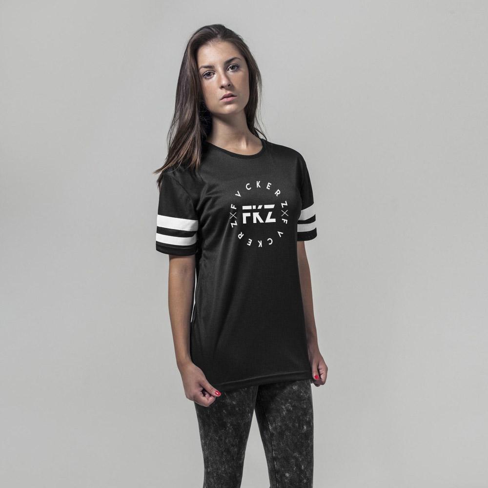 Frauen Mesh Shirt - FVCKERZ Crew Custom