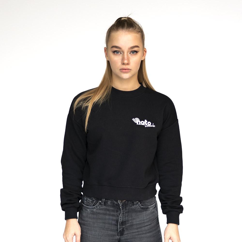 Crop Sweatshirt - natoWheels