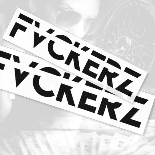 Aufkleber - FVCKERZ