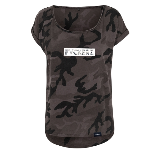 Frauen Camo Long Shirt - FVCKERZ