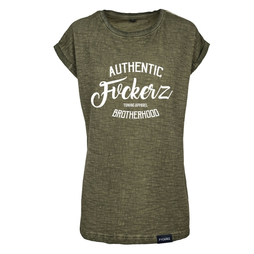 Frauen Spray Dye Shirt - FVCKERZ