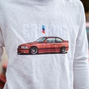 Herren Sweatshirt - ERLKNG e36 Front // Lisa Yasmin